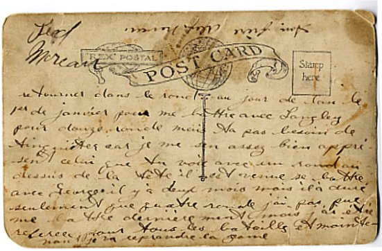 Back of postcard 4