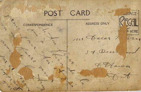 Back of postcard 1