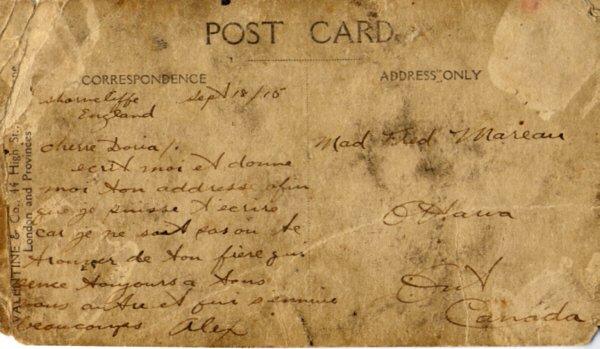 Back of postcard 2