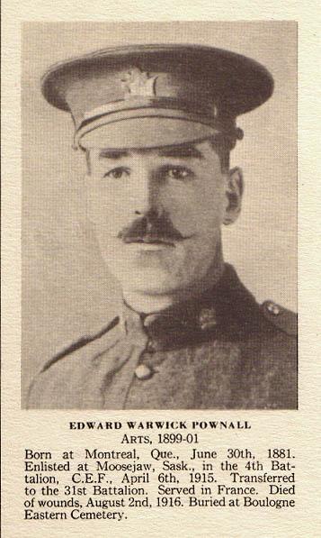 Photo of Edward Warwick Pownall