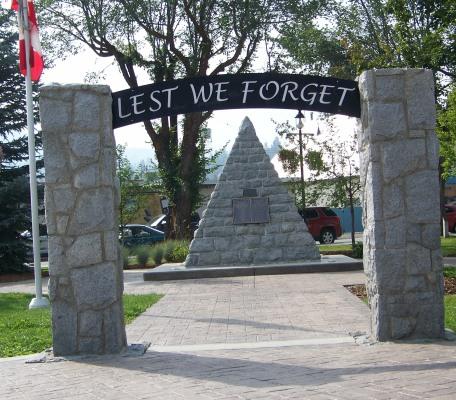 Cenotaph– Princeton, BC