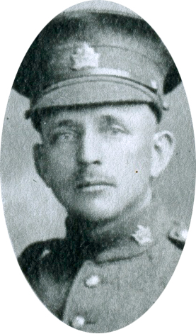 Photo of Frederick Charles Climo– Private Frederick Charles Climo of Woodstock, Ontario.