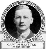 Photo of Neville Little– From: The Varsity Magazine Supplement Fourth Edition 1918