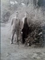 Photo of ROBERT SCOTT CLARK– Bob and Lewis. Submitted for the project, Operation Picture Me