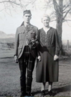 Photo of ROBERT SCOTT CLARK– Bob and his mother. Submitted for the project, Operation Picture Me