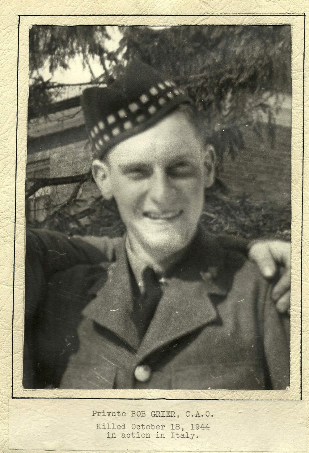 Photo of Robert Grier