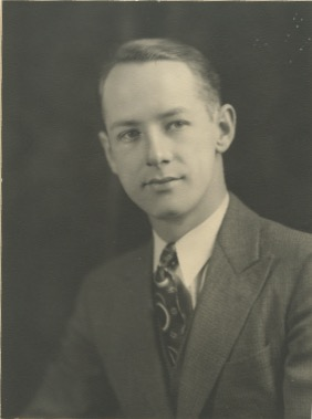 Photo of Clarence Alfred Turff– Clarence Alfred Turff.  Photograph from my Aunt's Possessions.