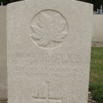 Grave Marker– Grave Marker of L/Cpl Joseph William Murphy # 69564, St Sever Cemetery, Rouen, France