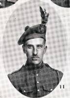 Photo of WILLIAM MCLEAN BORDEN– In memory of the men who joined the 185th Battalion (Cape Breton Highlanders) who went to war and did not come home. Submitted for the project, Operation Picture Me