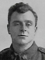 Photo of Fred Brabrook– Pte Fred Brabrook --from the December 1918 edition of The Christmas Echo published in London Ontario