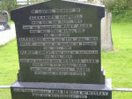 Family Marker– Private William CAMPBELL is remembered on the headstone of the family grave which is in Largy Presbyterian Churchyard, Drumlane Road, near Limavady, County Derry, Northern Ireland.