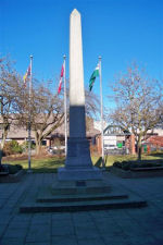 Port Coquitlam Cenotaph– Port Coquitlam Cenotaph located in front of City Hall at Veterans Park, Port Coquitlam, British Columbia.
