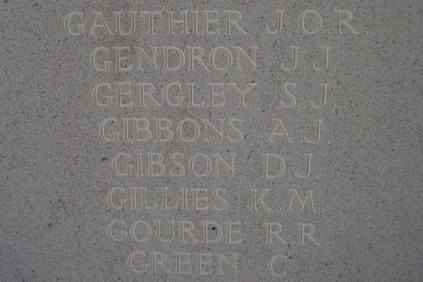 Inscription– Inscription - Runnymede Memorial - September 2010 … photo courtesy of Marg Liessens