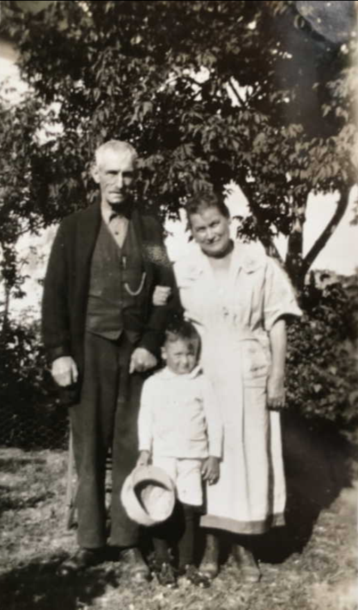 Family Photo– Daniel and Sarah Canvin and Charles. Submitted for the project, Operation Picture Me