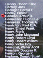 Memorial– Flight Sergeant Arthur Reginald Henman is also commemorated on the Bomber Command Memorial Wall in Nanton, AB … photo courtesy of Marg Liessens