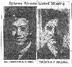 Newspaper Clipping– This article from the Oct. 29, 1942 Ottawa Journal includes photos and information on Sgt. Observer Robert G. Hill and Flt. Sgt. Harold J. Thurston.