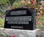 Memorial– Flying Officer Gordon Albert Hoggard is remembered on his family's memorial at Banff Cemetery, Banff, Alberta.