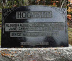 Memorial– Hoggard family memorial at Banff Cemetery, Banff, Alberta.