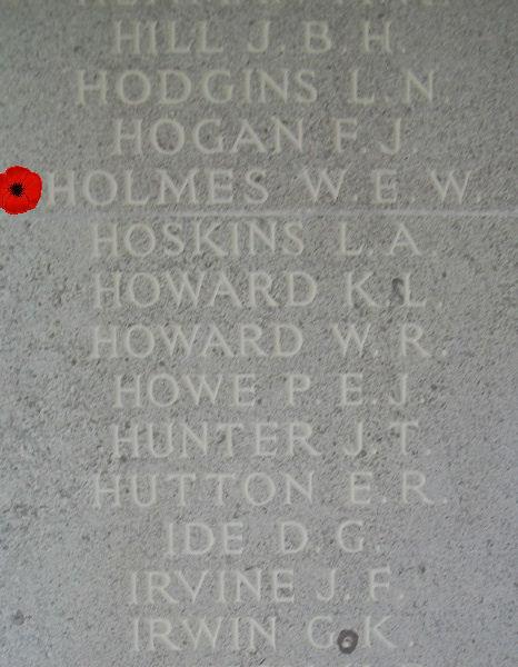 Memorial– Inscription - Runnymede Memorial - April 2017 … photo courtesy of Marg Liessens