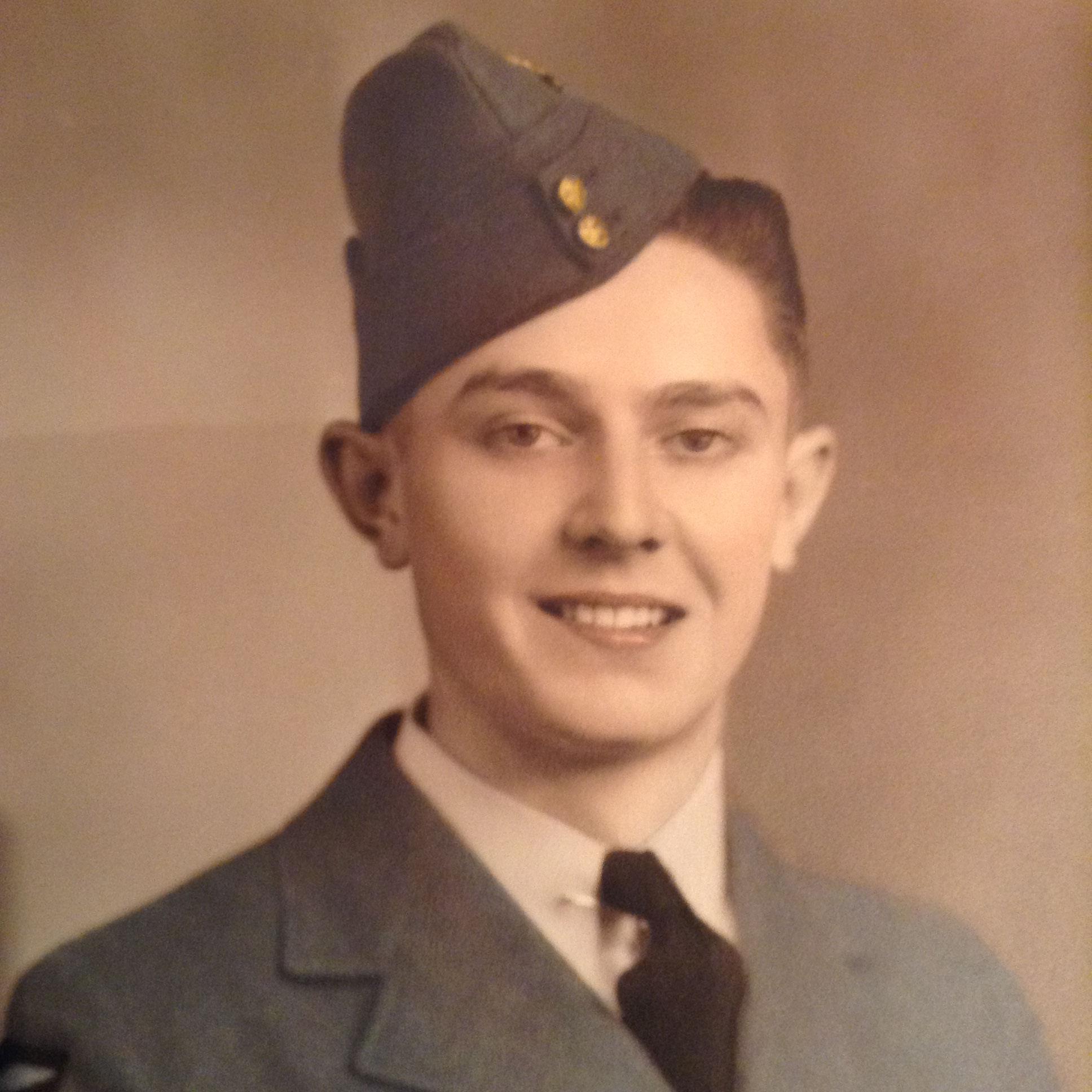 "Photo of Joseph Noel Charles ""Chuck"" Hornidge– Age 19 years Aylmer East, Quebec"