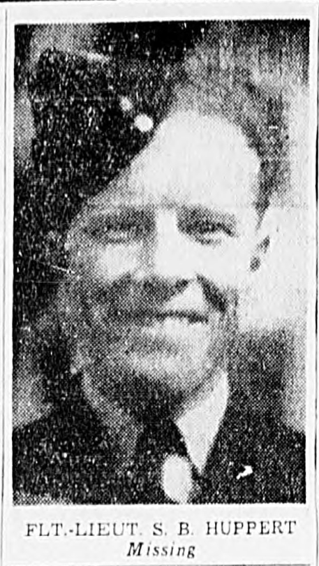 Photo of STANLEY BYRON HUPPERT– In memory of the men and women memorialized on the pages of the Winnipeg Evening Tribune. Submitted for the project, Operation: Picture Me