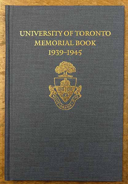 """Memorial Book– University of Toronto Memorial Book, Second World War 1939-1945. Edited by H. E. Brown, published by the Soldiers' Tower Committee, 1993. Entry on page 31 reads: """"F/O Eric Harry HUTCHESON RCAF, 612 Sqn RAF. Trinity College, BA 1942. Missing, presumed dead, in an air operation overseas, 11 February 1944. Name inscribed on the Runnymede Memorial, Cooper's Hill, Egham, Surrey, England."""""""