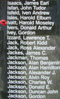 Memorial– Pilot Officer Harold Moseley Ivatt is also commemorated on the Bomber Command Memorial Wall in Nanton, AB … photo courtesy of Marg Liessens