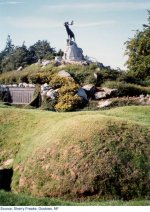 Beaumont-Hamel Newfoundland Memorial– This is the monument that now stands at Beaumont-Hamel Newfoundland Memorial.