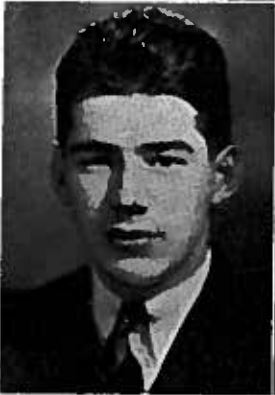 Photo of OWEN FRASER PICKELL– Photo from the 1940 University of British Columbia yearbook.