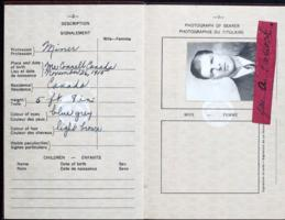 Passport– Submitted for the project, Operation Picture Me