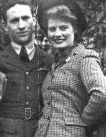 Group Photo– Lloyd and Christina in London 1942. Submitted for the project, Operation Picture Me