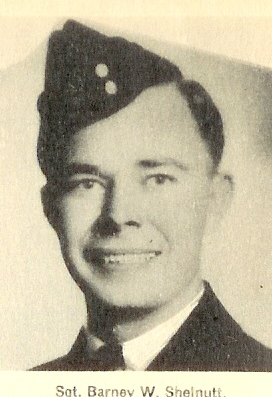 Barney Walker Shelnutt– American volunteer to the RCAF from Statesboro, Georgia USA