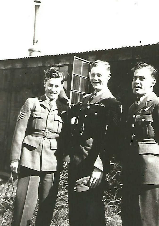 Group Photo– L-R James Romas, Dick Gordon and Albert. Submitted for the project Operation Picture Me