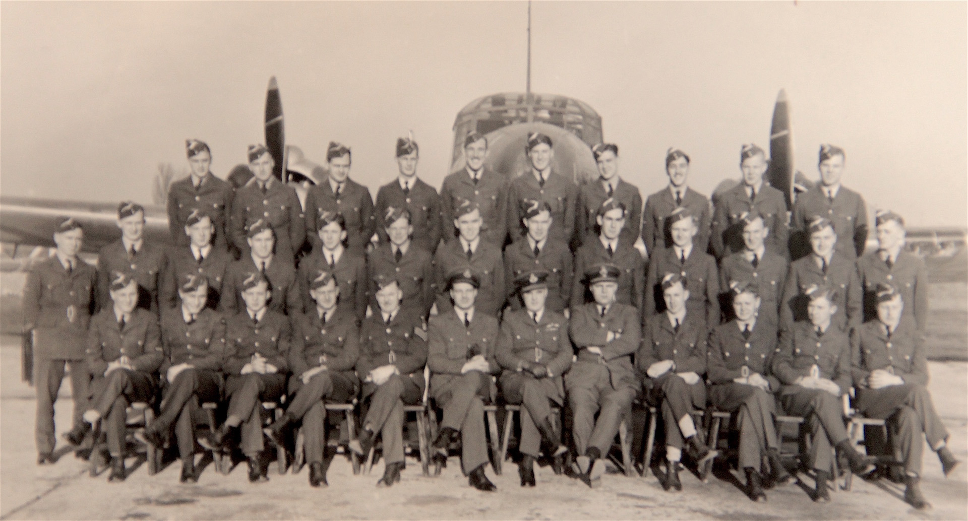 Group Photo– Charles Snider, top row, fourth from right
