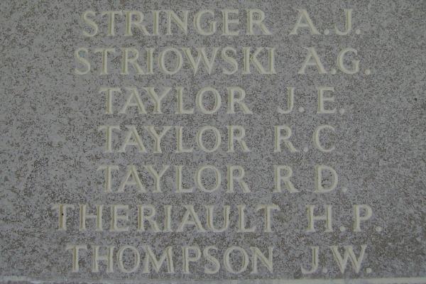 Inscription– Runnymede Memorial - September 2010 … photo courtesy of Marg Liessens