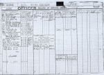 Document– Ron Kent's Record of Service Airman pg2. (Picture enchanced)  Source:Whitehouse via Library & Archives Canada