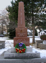Grimsby Ontario War Memorial