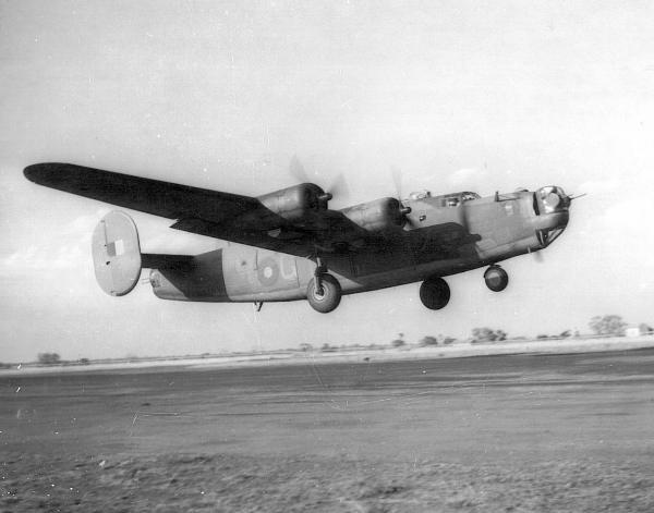 RAF Liberator Plane