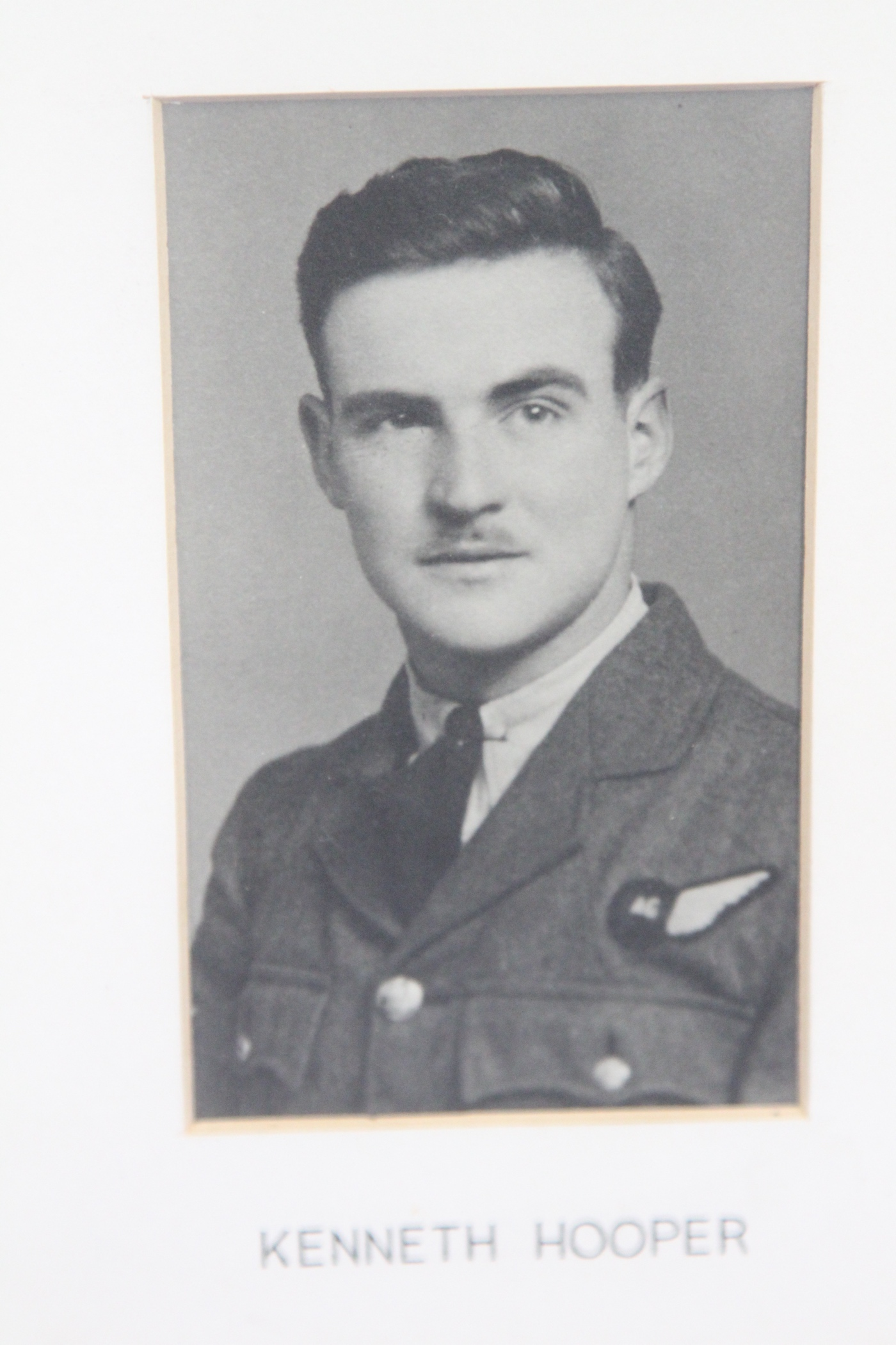 Photo of JOHN KENNETH HOOPER– In memory of the students from the Vaughan Road Collegiate Institute  (Toronto) who went away to war and did not come home. Submitted for the project, Operation Picture Me