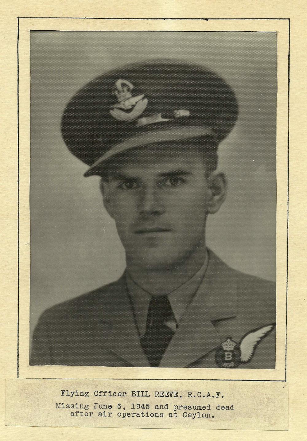 Photo of William Reeve