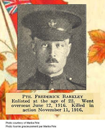 Photo of Frederick Barkley