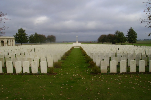 Cemetery– Adanac Military Cemetery … photo courtesy of Marg Liessens