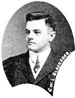 Photo of Lee Blackadar– Lee Blackadar, Acadia University ca 1911