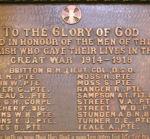 World War I Memorial– Christ (Anglican) Church, Gananoque, ON courtesy of Chris Andrew