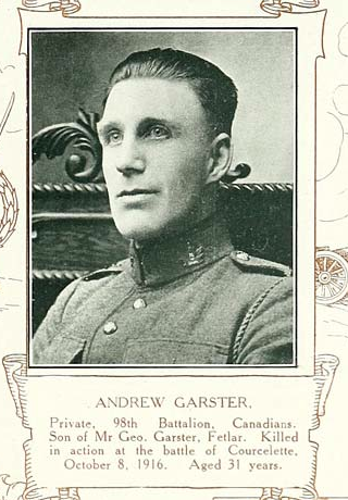 Photo of ANDREW GARSTER