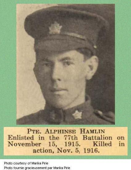 Photo of Alphonse Hamelin