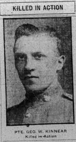 Newspaper clipping– THE CALGARY DAILY HERALD 11 OCTOBER 1917