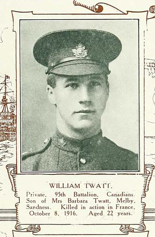 Photo of WILLIAM TWATT– Submitted for the project, Operation: Picture Me