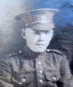 Photo of Joshua Watts– J. (Joshua) Watts Died September 15, 1916 France