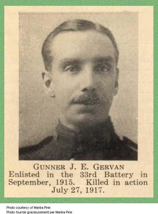 Photo of John Edwin Gervan